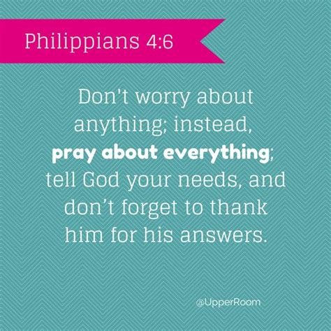 don t worry about the philippians 4 6 christian digest pinterest