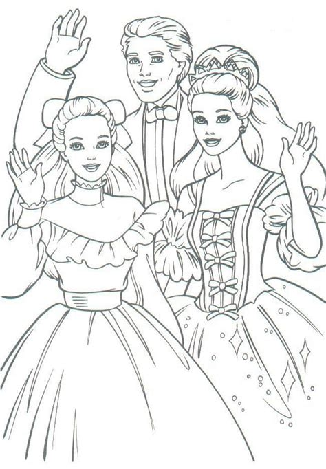 large barbie coloring pages 51 best barbie images on pinterest