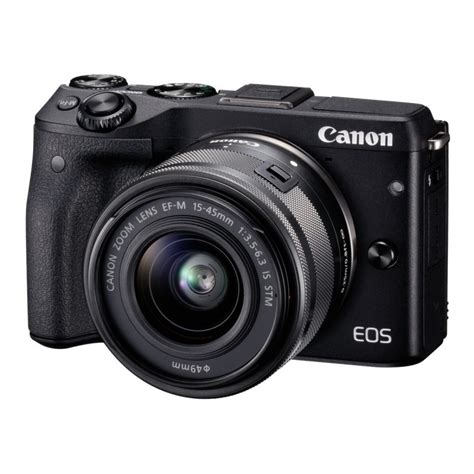 canon eos m3 kit ef m 15 45 stm mirrorless cameras