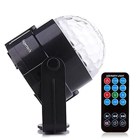 supertech led magic light supertech stage light 7 color changes with remote