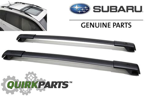 Subaru Factory Roof Rack by 2014 2015 Subaru Forester Aero Roof Rack Cross Bar Set Oem