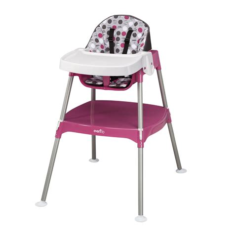 3 In One High Chair by Evenflo Convertible 3 In 1 High Chair By Oj Commerce 53 99