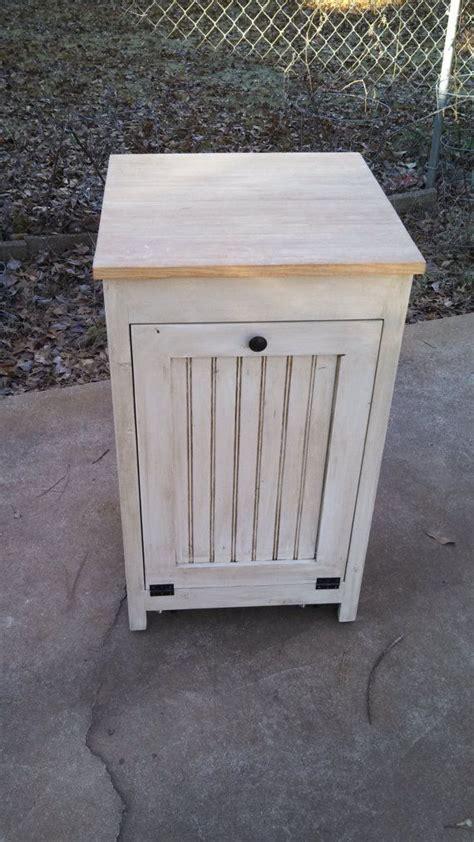 wood trash bin cabinet kitchen island trash garbage cabinet furniture