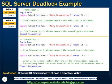 tutorial video sql sql server net and c video tutorial sql server