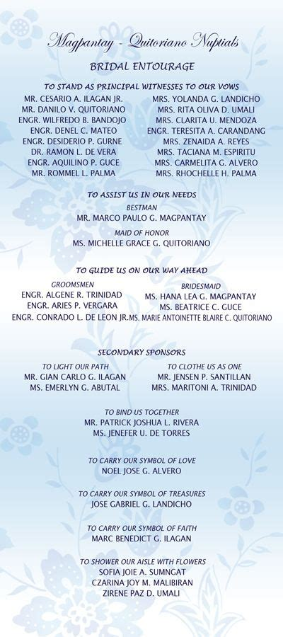 wedding entourage list template wedding list on bridal entourage list invitation ideas