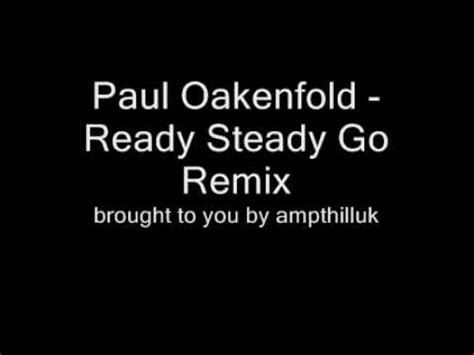 paul oakenfold ready steady go movie soundtrack collateral music