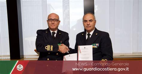 intesa direzione generale al comando generale firmato un protocollo di intesa tra
