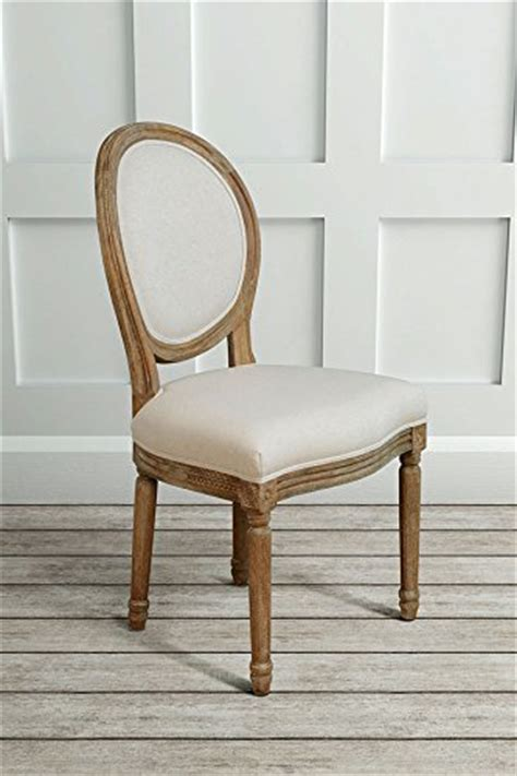 furniture french louis style shabby chic oak oval dining occasional chair shabbychic
