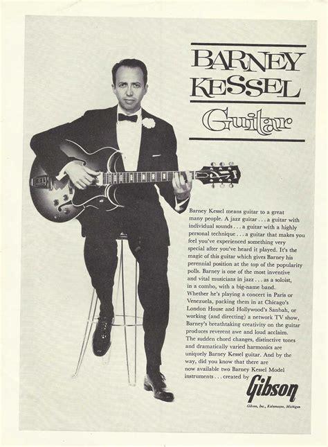barney kessel a jazz legend for elvis cd collectors jazz guitar legend plays datin