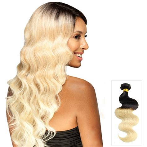 26 inch 1b 613 clip 16 quot 26 quot ombre hair extensions indian remy human hair