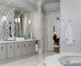 Mirror Designs For Bathrooms Marble And Mirror Bath Interior Design Inspiration Designs
