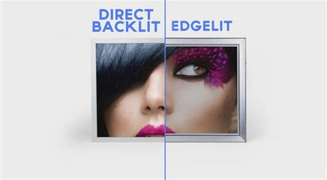 which is better edge lit or backlit led tv direct backlit vs edgelit lightboxes