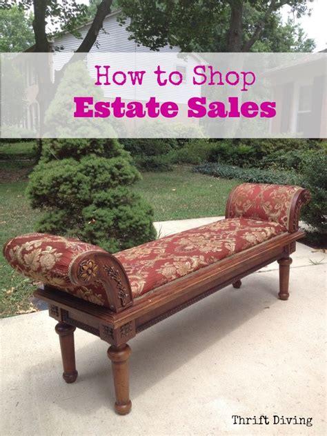 bench online shop sale how to shop estate sales thrift diving blog