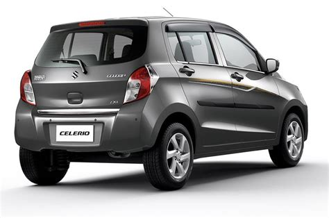 maruti suzuki maruti suzuki celerio limited edition launched in india