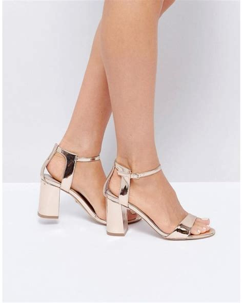 Lica High Heels N Co T 8cm carvela kurt geiger gold heeled sandals in metallic