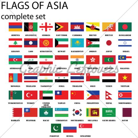 flags of the world how many asian flags 183 gl stock images