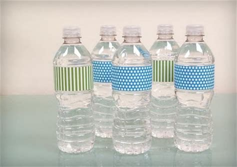 Water Bottle Label Template Free Water Bottle Template