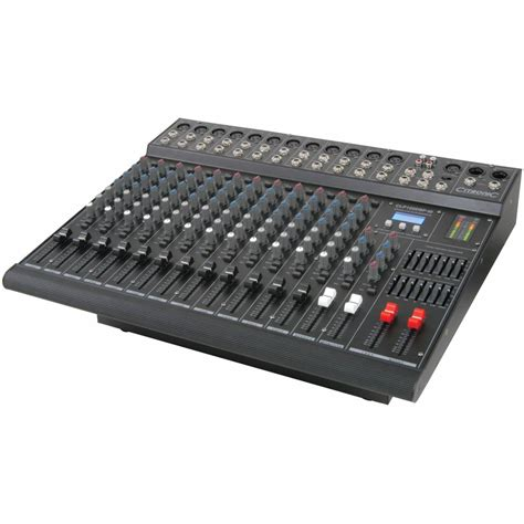 Mixer Live citronic clp122dsp powered live mixer