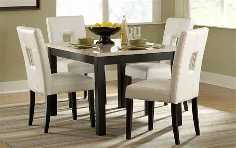 Archstone Marble Top Kitchen Table Set