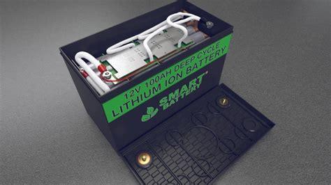 Smart Battery smart battery 174 12v lithium batteries for rv marine and
