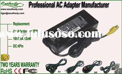 Adaptor Lenovo G40 By Chelin Part ibm ac power adapter ibm ac power adapter manufacturers