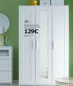 armoire blanche pas cher