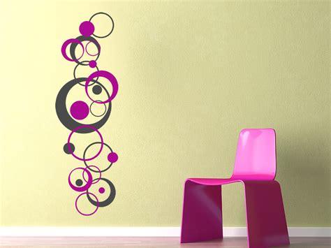 wandtattoo kinderzimmer design wandtattoo retro design mit kreisen wandtattoo de