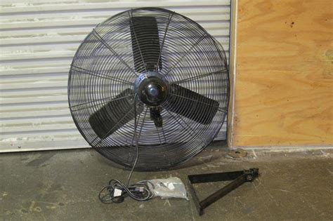 air king wall fan lot 112 air king 30 quot industrial wall mount fan wirebids