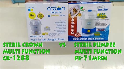 Crown Steril Botol 2 Tingkat steril multi function 5 in1 crown pumpee tutorial