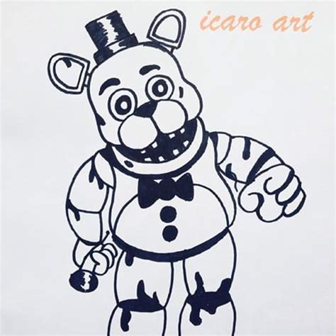 imagenes para colorear fnaf janca icaro art instagram photos and videos