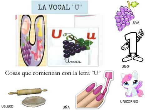 imagenes que empiecen con la letra u a color las vocales