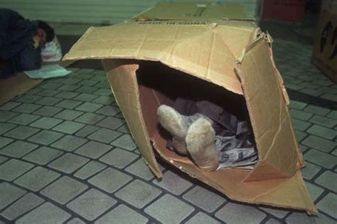 In A Box Live by There S Something Different About The Homeless