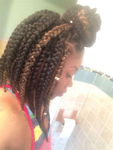 jumbo bob box braids goddess braids hairstyles natural