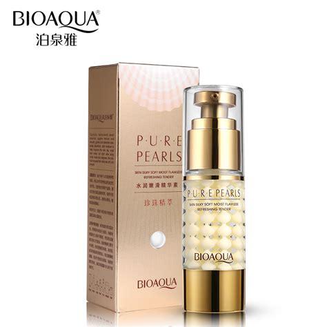 Bioaqua Pearls Lotion Anti Aging bioaqua brand skin care pearl essence collagen