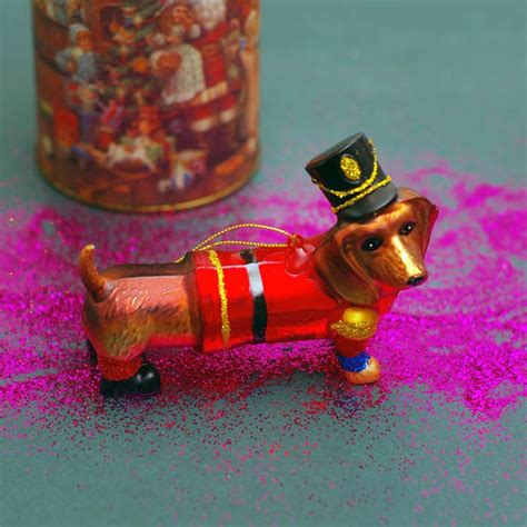 sausage dog tree decorations buy online uk