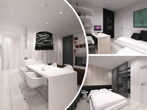 imagenes de apartamentos minimalistas apartamento minimalista y moderno en polonia