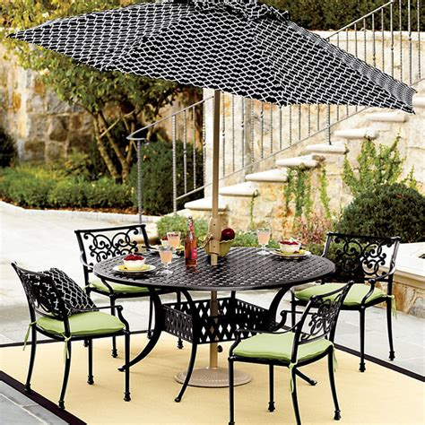 Outdoor Dining Sets Houzz Amalfi 5 Dining Set 60 Quot Traditional