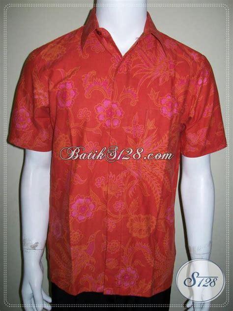 Baju Batik Warna Merah baju batik pria warna merah images