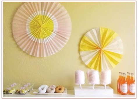 how to make paper fan decorations a few of my favorite things how to make hanging party