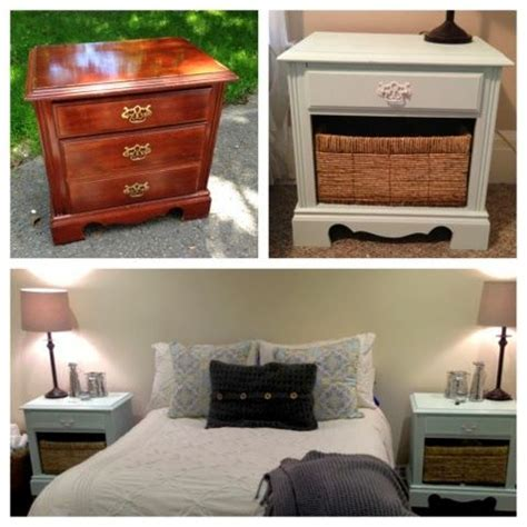 Best 25 Refinished Nightstand Ideas On Pinterest Refinished Bedroom Furniture