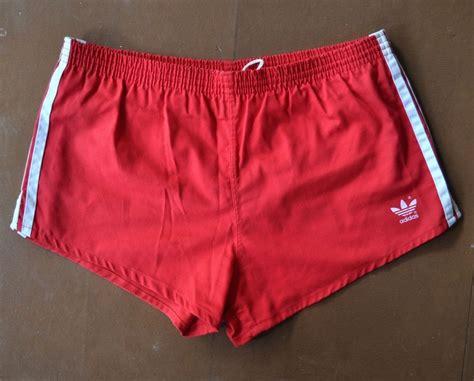 Adidas Marathon Made In vtg adidas mens skimpy athletic running shorts large