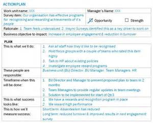 Employee Engagement Plan Template by How To Plan Post Employee Survey Employee