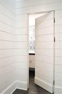 Horizontal Bookcase White Concealed Frameless Slab Door Master Bathroom And Master