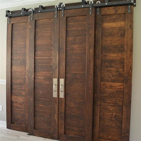 Bypass Barn Doors 25 Best Ideas About Bypass Barn Door Hardware On Closet Door Hardware Sliding Barn