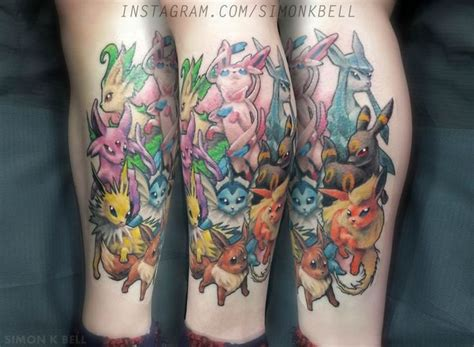 eevee tattoo 17 best ideas about evolution on darwin