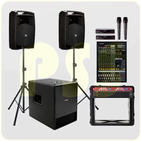 Speaker Aktif Indoor Paket Sound System Indoor Paket Sound System Profesional Indonesia