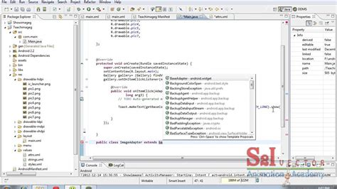 android studio tutorial in tamil this is tamil video tutorials for image gallery for using