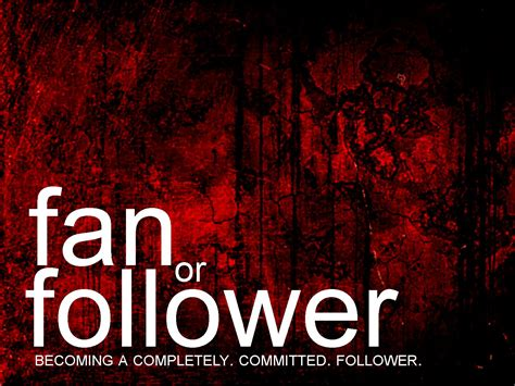 not a fan becoming a completely committed follower of jesus fan or follower part one the journey