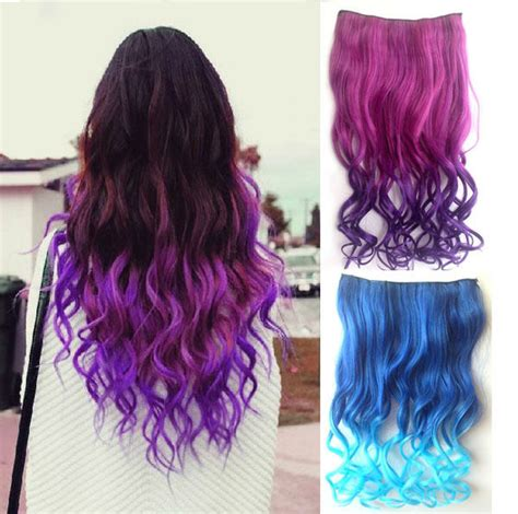 how to extend your hair color womens hair styles new 26 quot 3 4 full head clip in synthetic hair extensions