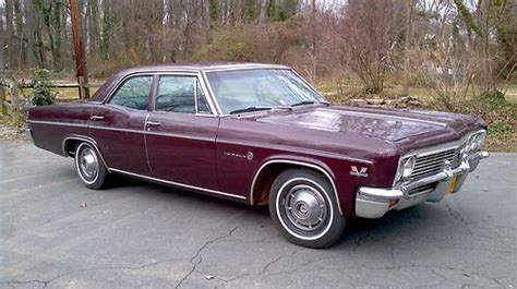 1966 Chevy Impala 4 Door by Purchase Used 1966 Chevrolet Impala 4 Door Factory 396